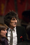 Ronnie Wood of the Rolling Stones attends the Shine A Light premiere during day one of the 58th Berlinale International Film Festival held at the Grand Hyatt Hotel on February 7, 2008 in Berlin, Germany.  (Philip Schulte/PressPhotoIntl.com)