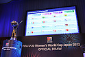 General view, .JUNE 4, 2012 - Football /Soccer : .Official Draw for the FIFA U-20 Women's World Cup Japan 2012 .in Tokyo, Japan. .(Photo by YUTAKA/AFLO SPORT) [1040]