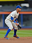 24 July 2012: New York Mets infielder Ronny Cedeno in action against the Washington Nationals at Citi Field in Flushing, NY. The Nationals defeated the Mets 5-2 to take the second game of their 3-game series. Mandatory Credit: Ed Wolfstein Photo