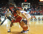 LSU's Aaron Dotson, right, steals the ball from Mississippi's Chris Warren (12) during an NCAA college basketball game in Oxford, Miss., on Thursday, March 4, 2010. Ole Miss won 72-59.