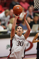 9 November 2006: Stanford Cardinal Brooke Smith during Stanford's 88-61 win in the first round of the preseason Women's National Invitation Tournament against Loyola Marymount Lions at Maples Pavilion in Stanford, CA.