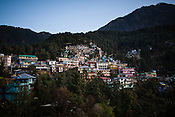 Overview of Dharamsala in Himachal Pradesh, India. Photo: Sanjit Das/Panos