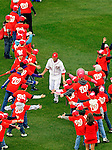 31 March 2011: Washington Nationals outfielder Jayson Werth arrives on field during the pre-game ceremonies of Opening Day, prior to a game between the Washington Nationals and the Atlanta Braves at Nationals Park in Washington, District of Columbia. The Braves shut out the Nationals 2-0 to open the 2011 Major League Baseball season. Mandatory Credit: Ed Wolfstein Photo