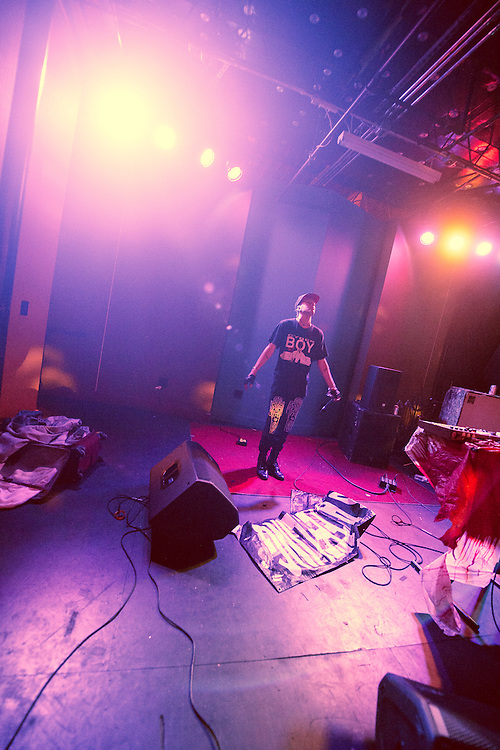 September 6, 2012. Raleigh, NC. Pictureplane performs at Kings Barcade as part of the 2012 Hopscotch Music Festival in Raleigh, NC.