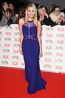 Danielle Armstrong at the National TV Awards 2017 held at the O2 Arena, Greenwich, London. <br /> 25th January  2017<br /> Picture: Steve Vas/Featureflash/SilverHub 0208 004 5359 sales@silverhubmedia.com