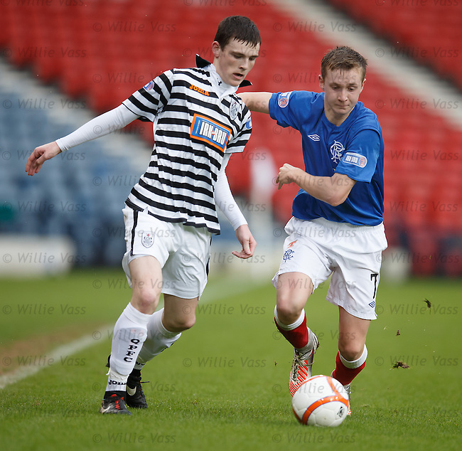 Andrew Robertson and Robbie Crawford