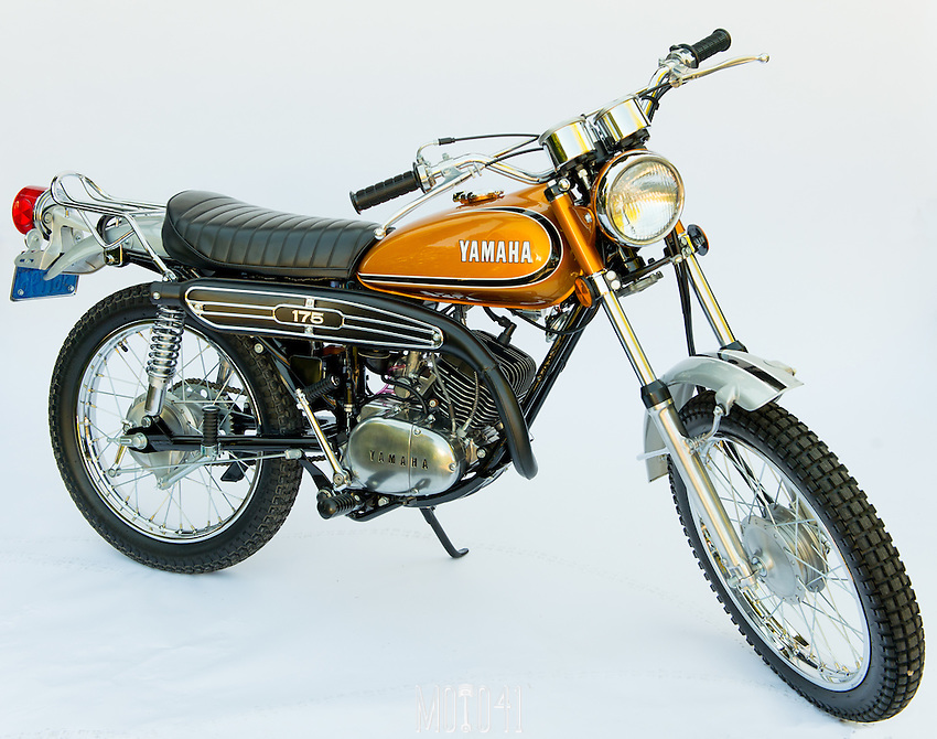 Yamaha CT3 175 1973 Restoration
