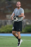 29 August 2008: UNC's Jacob Wescoe. The University of North Carolina Tar Heels defeated the Florida International University Panthers 3-0 in overtime at Fetzer Field in Chapel Hill, North Carolina in an NCAA Division I Men's college soccer game.