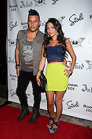 Johnny Donovan and  Christie Livoti attend Inked Magazine release party celebrating August issue, New York. July 17, 2012 © Diego Corredor/MediaPunch Inc.