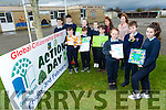 ARDFERT NS are having a Green Schools Action Day next Friday 3rd February on the theme 'Global Citizenship - Energy' in an attempt the achieve their seventh Green Flag from An Taisce Pictured front l-r Sarah Bodenham, Jamie O'Sullivan, Shona Maguire, Back Gary O'Riordan, Tiernan O'Sullivan, Timmy McElligott, Ria Hermann, Heather Walsh, Colin Kenny, Keith O Mahony  Marie O'Connell (teacher) Betty Stack (principal)