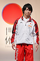 Kohei Uchimura (JPN), September 12, 2011 - Artistic Gymnastics : Kohei Uchimura attends press conference in Tokyo, Japan, regarding the Artistic Gymnastics World Championships 2011 Tokyo. (Photo by Yusuke Nakanishi/AFLO SPORT) [1090]