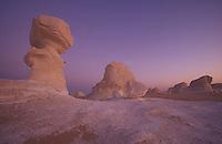 Chalk formations in the white desert, near Farafra Oasis, Egypt