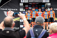 Picture by Alex Whitehead/SWpix.com - 12/05/2017 - Cycling - Tour Series Round 3, Northwich - Matrix Fitness Grand Prix - Ford EcoBoost.