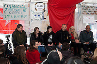 """05.02.2012 - OccupyLSX Presents:""""How the global 1% is trashing the planet and stealing your future"""""""