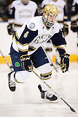 Riley Sheahan (Notre Dame - 4) - The University of Notre Dame Fighting Irish defeated the University of New Hampshire Wildcats 2-1 in the NCAA Northeast Regional Final on Sunday, March 27, 2011, at Verizon Wireless Arena in Manchester, New Hampshire.