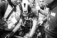 race winner Michal Kwiatkowski (POL/SKY) just after winning his very first Monument<br /> <br /> 108th Milano - Sanremo 2017