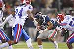 Ole Miss' Donte Moncrief (12) runs past Louisiana Tech's Dave Clark (24) in Oxford, Miss. on Saturday, November 12, 2011.