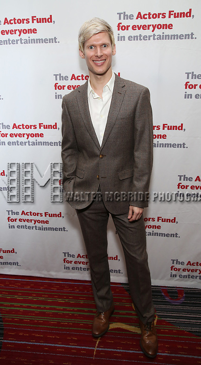 Lucas Steele attends The Actors Fund Annual Gala at the Marriott Marquis on 5/8//2017 in New York City.