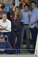 FLUSHING NY- SEPTEMBER 08: Heidi Klum and Vito Schnabel are seen watching Serena Williams Vs Karolina Pliskova on Arthur Ashe Stadium at the USTA Billie Jean King National Tennis Center on September 8, 2016 in Flushing Queens. Credit: mpi04/MediaPunch