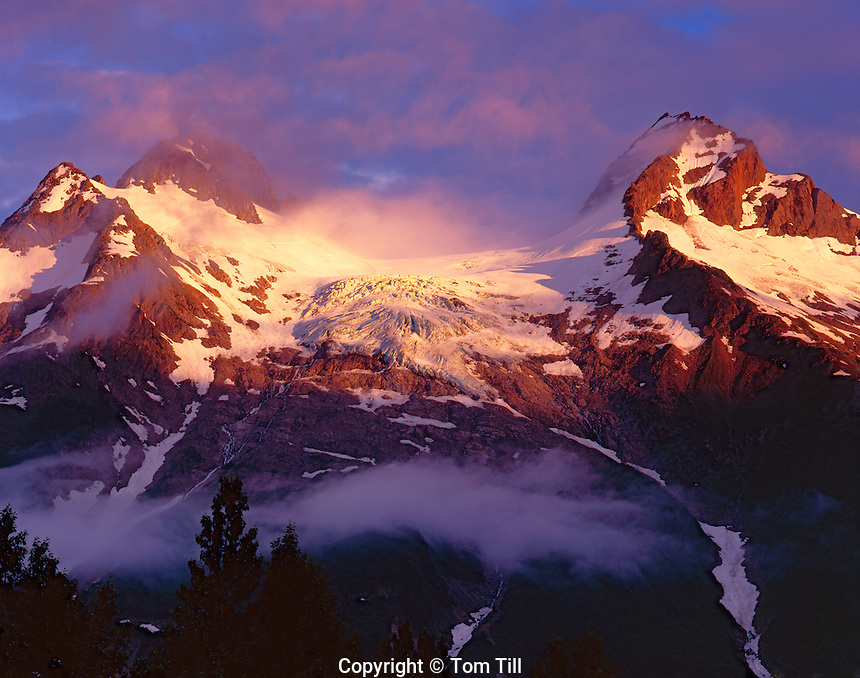 Peaks of the St. Elias Mountains, Glacier Bay National Park and Preserve, Alaska