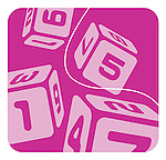 Numbered dice cascading