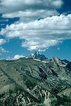 WY: Grand Teton National Park, Wyoming; view from the top of Jackson tram         .Photo Copyright: Lee Foster, lee@fostertravel.com, www.fostertravel.com, (510) 549-2202.Image: wygran227
