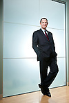 Paul Stebbins, CEO of World Fuel Services photographed at their Miami headquarters.
