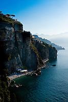Coastline near Amalfi, Amalfi Coast, Italy