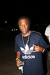 Hip Hop Legend Busy Bee Backstage at the 8th Annual Rock The Bells Held on Governors Island, NY 9/3/11