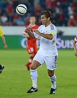 Fussball International  WM Qualifikation 2014   11.09.2012 Schweiz - Albanien Lorik Cana (Albanien) am Ball