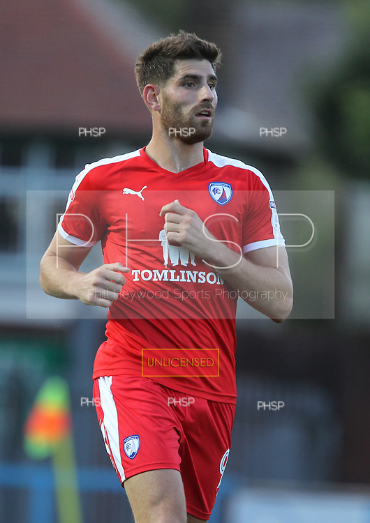 9/8/2016 Rochdale v Chesterfield. EFL Cup First Round.<br /> <br /> Ched Evans, Chesterfield FC<br /> <br /> Credit: PHSP/Harry McGuire.