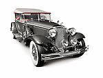 1931 Chrysler Imperial Phaeton LeBaron vintage car, Dual Cowl luxury convertible retro car