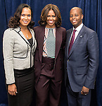 04.17.2014 First Lady Michelle Obama Visit