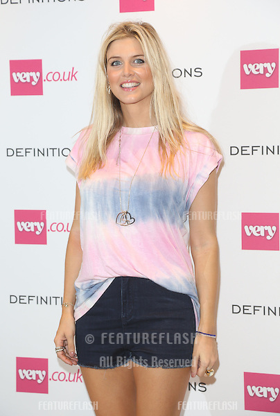 Ashley James at the Launch party for Very.co.uk introducing the new fashion brand Definitions at Somerset House<br /> London. 04/09/2013 Picture by: Henry Harris / Featureflash