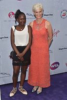 Tawana Senah, Judy Murray at WTA pre-Wimbledon Party at The Roof Gardens, Kensington on june 23rd 2016 in London, England.<br /> CAP/PL<br /> &copy;Phil Loftus/Capital Pictures /MediaPunch ***NORTH AND SOUTH AMERICAS ONLY***