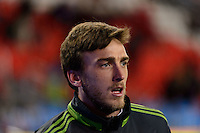 Toronto, ON, Canada - Saturday Dec. 10, 2016: Alex Bono prior to the MLS Cup finals at BMO Field. The Seattle Sounders FC defeated Toronto FC on penalty kicks after playing a scoreless game.