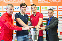 20150520: SLO, Basketball - Press conference prior to the final of Slovenian National Championship