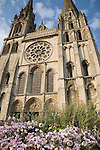Facade, Cathedral, Chartres, France