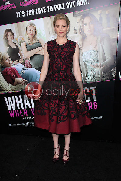 Elizabeth Banks<br /> at the &quot;What to Expect When You're Expecting&quot; Los Angeles Premiere, Chinese Theater, Hollywood, CA 05-14-12<br /> David Edwards/DailyCeleb.com 818-249-4998