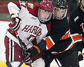 Sean Malone (Harvard - 17), Tom Kroshus (Princeton - 4) - The Harvard University Crimson defeated the Princeton University Tigers 3-2 on Friday, January 31, 2014, at the Bright-Landry Hockey Center in Cambridge, Massachusetts.