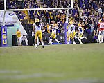 LSU wide receiver Odell Beckham Jr. (3) returns a punt 89 yards for a touchdown at Tiger Stadium in Baton Rouge, La. on Saturday, November 17, 2012. LSU won 41-35.....