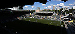 19 June 2015: A wide view of Providence Park from the press box. The Portland Thorns FC hosted FC Kansas City at Providence Park in Portland, Oregon in a National Women's Soccer League 2015 regular season match. The game ended in a 1-1 tie.
