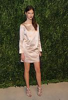 NEW YORK, NY - NOVEMBER 07:  Faretta attends 13th Annual CFDA/Vogue Fashion Fund Awards at Spring Studios on November 7, 2016 in New York City. Photo by John Palmer/ MediaPunch
