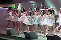 June 6, 2012, Tokyo, Japan - AKB 48 members dance and sing at stage.  AKB General Election at Nippon Budokan. The biggest girl band in the world and Japan's most popular pop group elected its new leader in a nationwide election open to all fans. The collective is organised into different units which in turn are sometimes split into smaller groups. The night involved singing, games, tears and the eventual crowning of new leader Yuko Oshima from Team K with 108837 votes for most popular member..