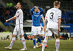 St Johnstone v Inverness Caley Thistle&hellip;09.03.16  SPFL McDiarmid Park, Perth<br />David Wotherspoon holds his head after he shoots over the bar<br />Picture by Graeme Hart.<br />Copyright Perthshire Picture Agency<br />Tel: 01738 623350  Mobile: 07990 594431
