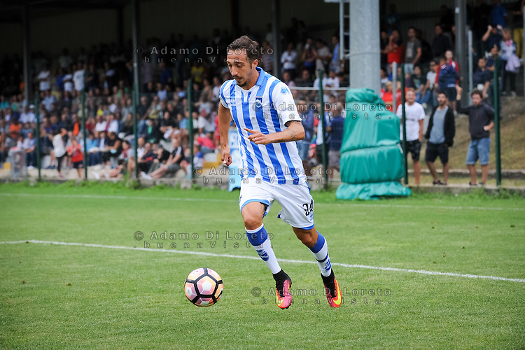 Mazzotta Antonio (Pescara) during the withdrawal preseason Serie A; match friendly between Pescara vs San Nicolò, on July 28, 2016. Photo: Adamo Di Loreto/BuenaVista*photo