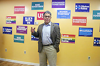 PHILADELPHIA, PA - OCTOBER 29 :  Minnesota Senator Al Franken pictured campaigning for Hillary Clinton highlighting the stark contrast between Clinton, who is committed to bringing people together and creating an economy that works for everyone, and Donald Trump, whose pattern of demeaning women and minorities makes him temperamentally unfit to hold our nation's highest office at the GOTV Office on South Street in Philadelphia, Pa on October 29, 2016  photo credit Star Shooter/MediaPunch