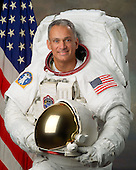 "Houston, TX - (FILE) -- Photo dated September 18, 2006 of Astronaut John D. ""Danny"" Olivas, mission specialist, STS-128.  Commander Rick Sturckow will lead the STS-128 mission to the International Space Station aboard space shuttle Discovery with Kevin Ford serving as pilot.  It is scheduled for launch on August 25, 2009.  Also serving aboard Discovery are mission specialists Patrick Forrester, José Hernández, John ""Danny"" Olivas, Christer Fuglesang and Nicole Stott. .Stott will remain on the station as an Expedition 20 flight engineer replacing Timothy Kopra. Kopra will return home aboard Discovery as a mission specialist.  Discovery is carrying the Leonardo Multi-Purpose Logistics Module containing life support racks and science racks. The Lightweight Multi-Purpose Experiment Support Structure Carrier will also be launched in Discovery's payload bay.  This is Discovery's 37th mission to space and the 30th mission of a space shuttle dedicated to the assembly and maintenance of the International Space Station. .Credit: NASA via CNP"