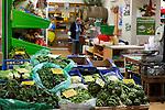Vegetable stall at Xania Market, Crete, Greece