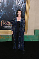 HOLLYWOOD, LOS ANGELES, CA, USA - DECEMBER 09: Philippa Boyens  arrives at the World Premiere Of New Line Cinema, MGM Pictures And Warner Bros. Pictures' 'The Hobbit: The Battle of the Five Armies' held at the Dolby Theatre on December 9, 2014 in Hollywood, Los Angeles, California, United States. (Photo by Xavier Collin/Celebrity Monitor)